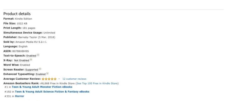VIRO eBook_ Barnaby Taylor_ Amazon co.uk_ Kindle Store